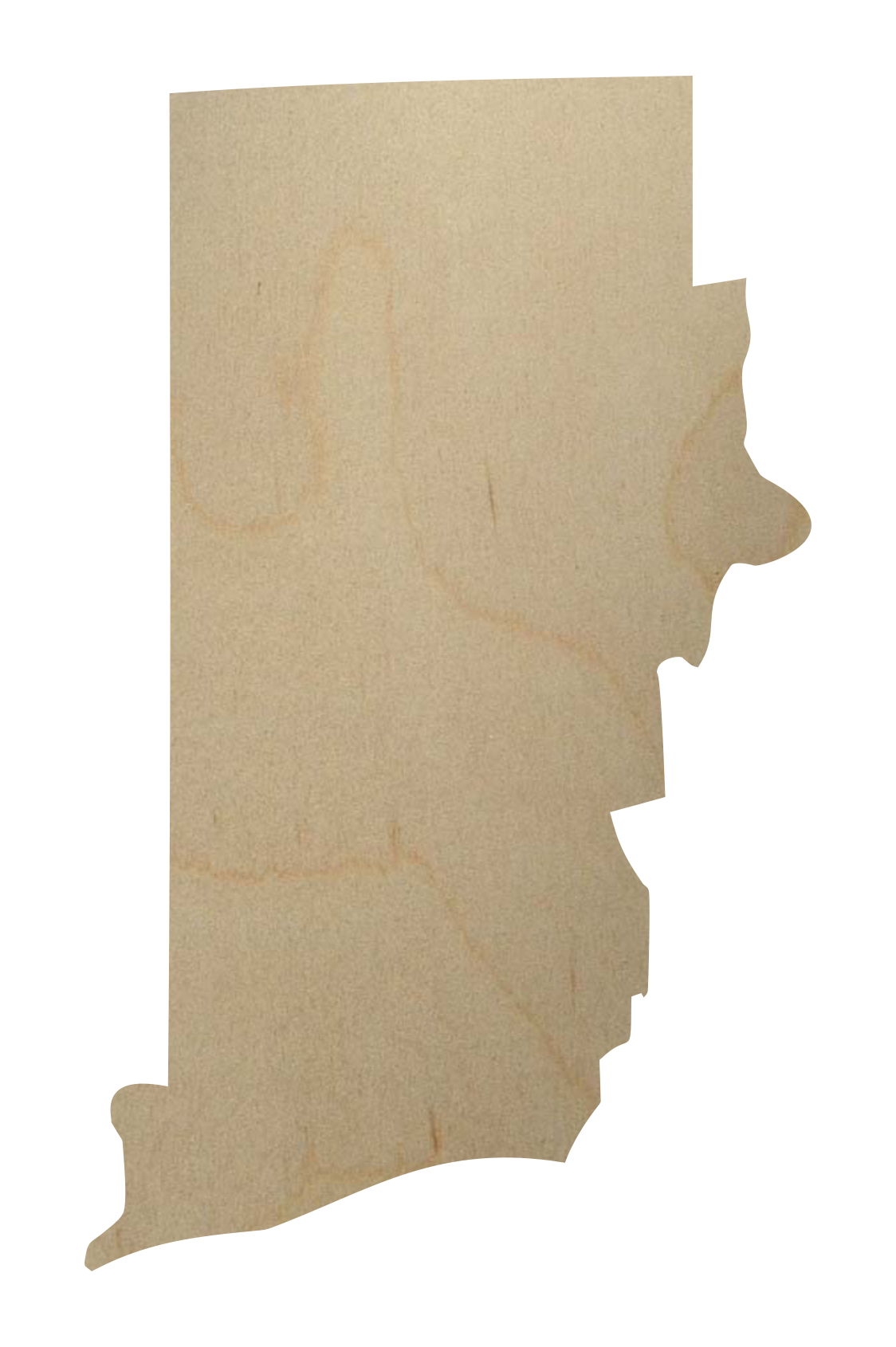 Rhode island state wood shape rhode island wood cutout rhode island wood cutout sciox Image collections