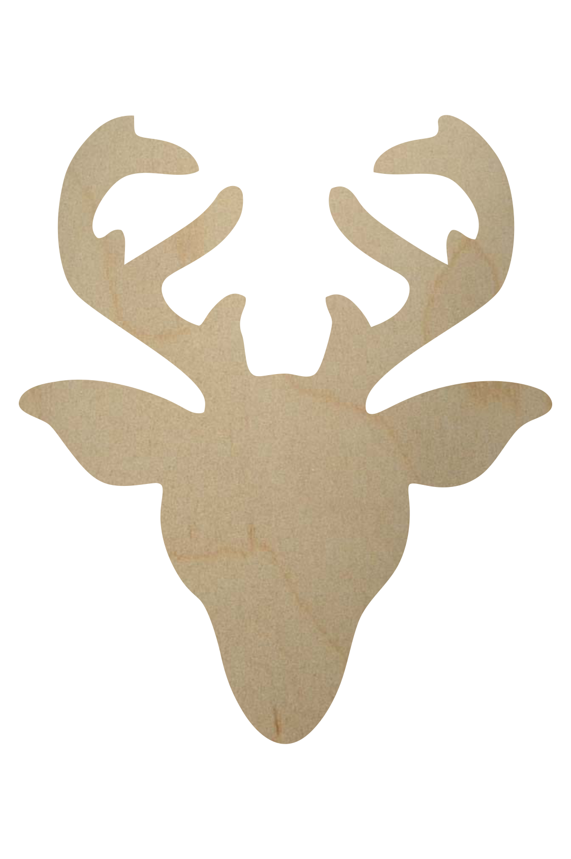 Reindeer face images galleries with a for Templates for wood cutouts