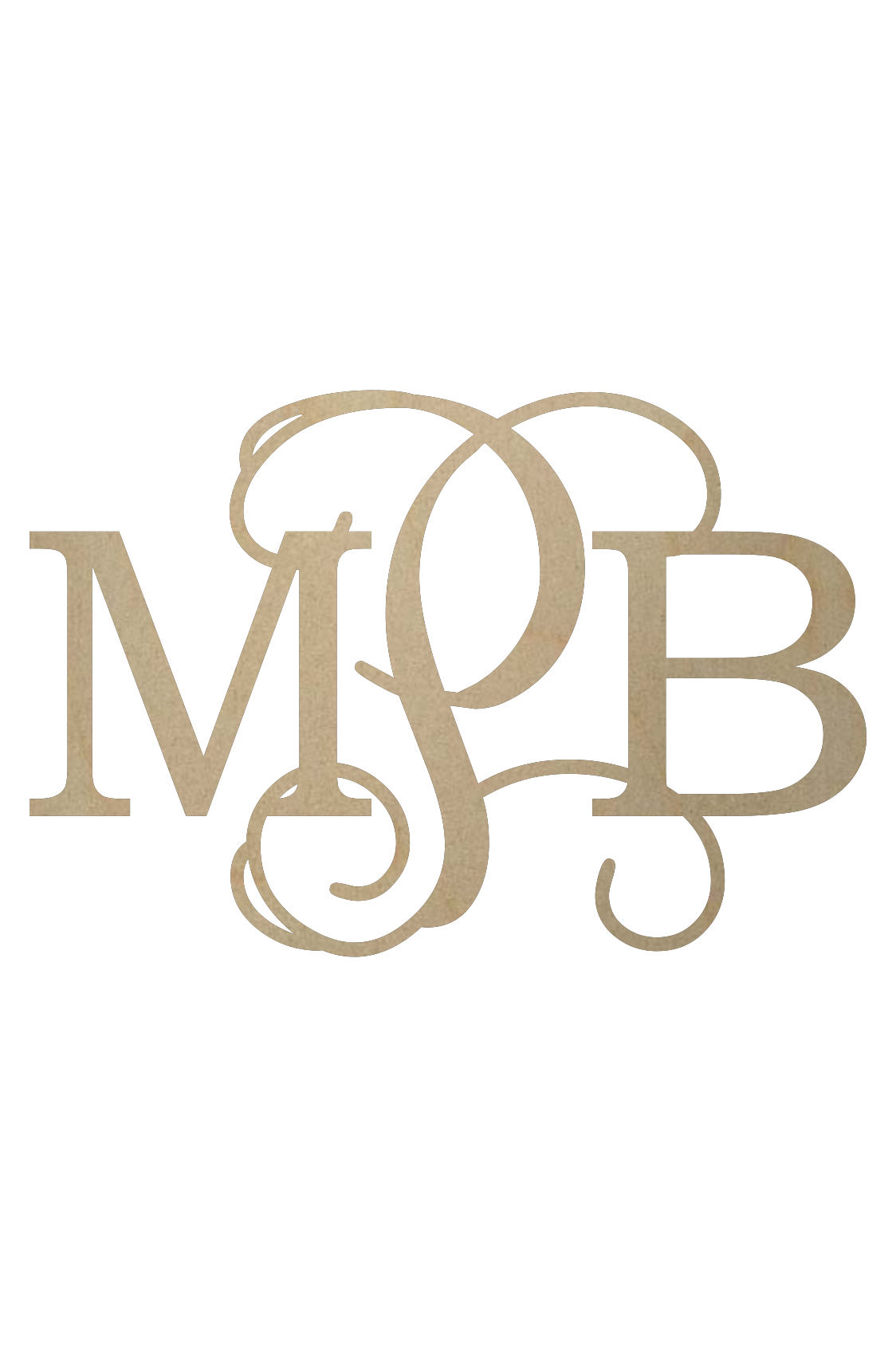Wooden Monogram Wall Monogram Door Monogram